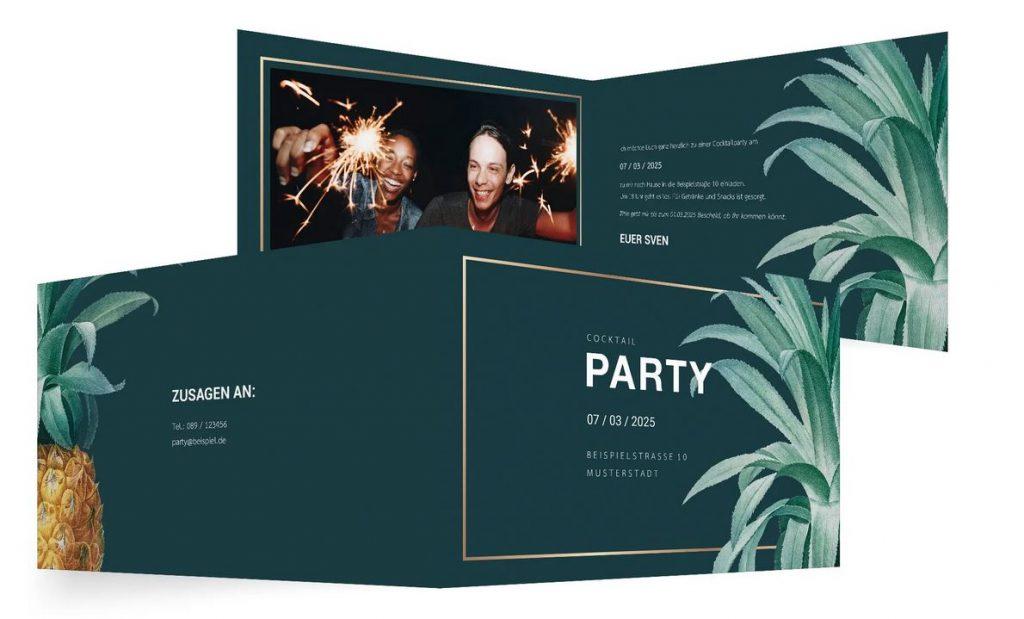 Einladung Gartenfest