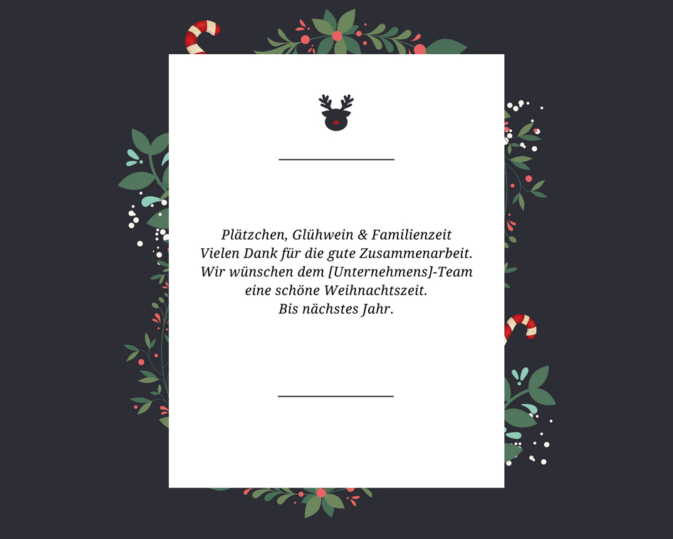 Weihnachtsgrüße geschäftlich: Texte für Ihre Weihnachtskarten