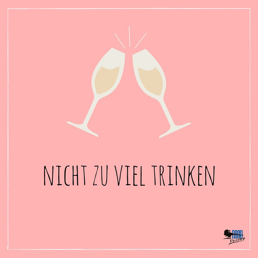 Braut-To-Do: Nicht zu viel trinken