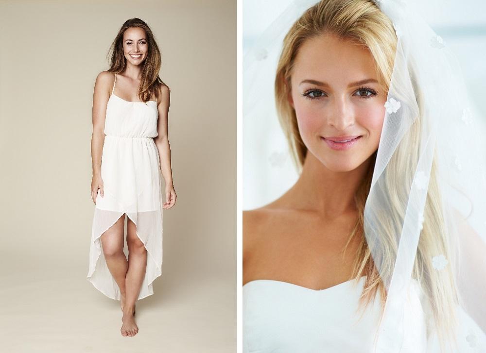 Brautkleid für kurzfristige Hochzeit