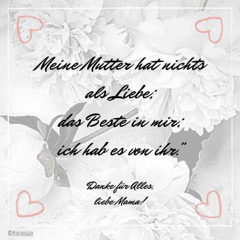 Schöne Muttertagssprüche Glückwünsche Gedichte Zum Muttertag
