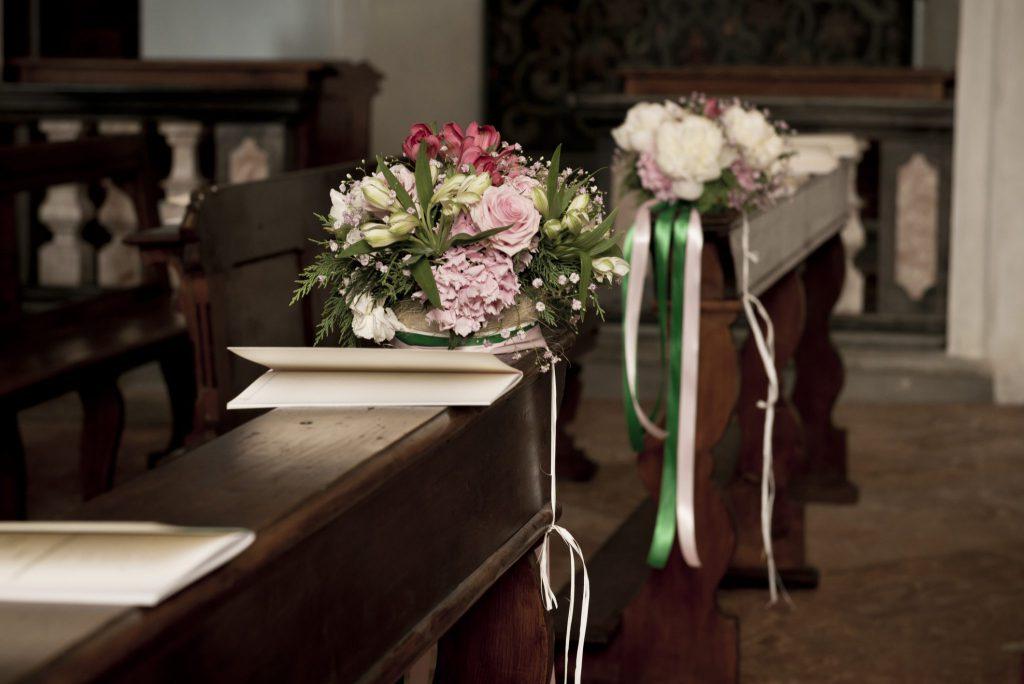 Aufbau der Kirchenhefte für Hochzeit