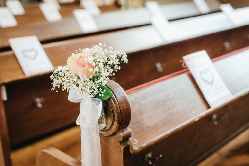 Kirchenheft für Hochzeit in Kirche
