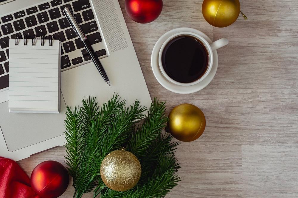 Planung der geschäftlichen Weihnachtspost