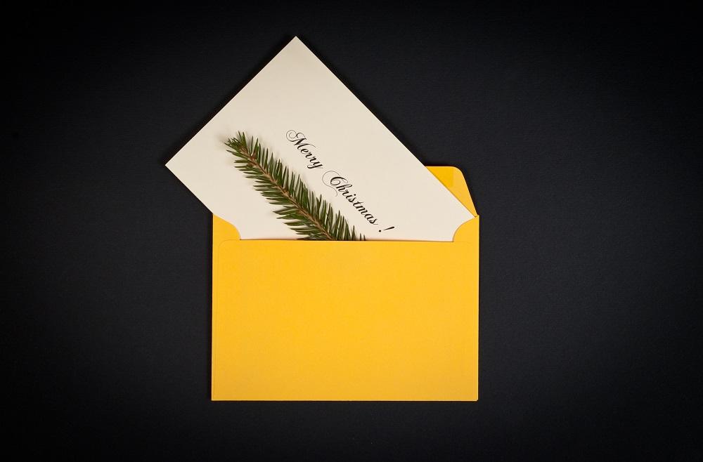 Ein Weihnachtsgruß für Ihre Geschäftspartner