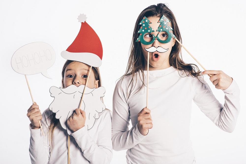 Weihnachtsrequisiten als Idee fürs Weihnachtsfoto