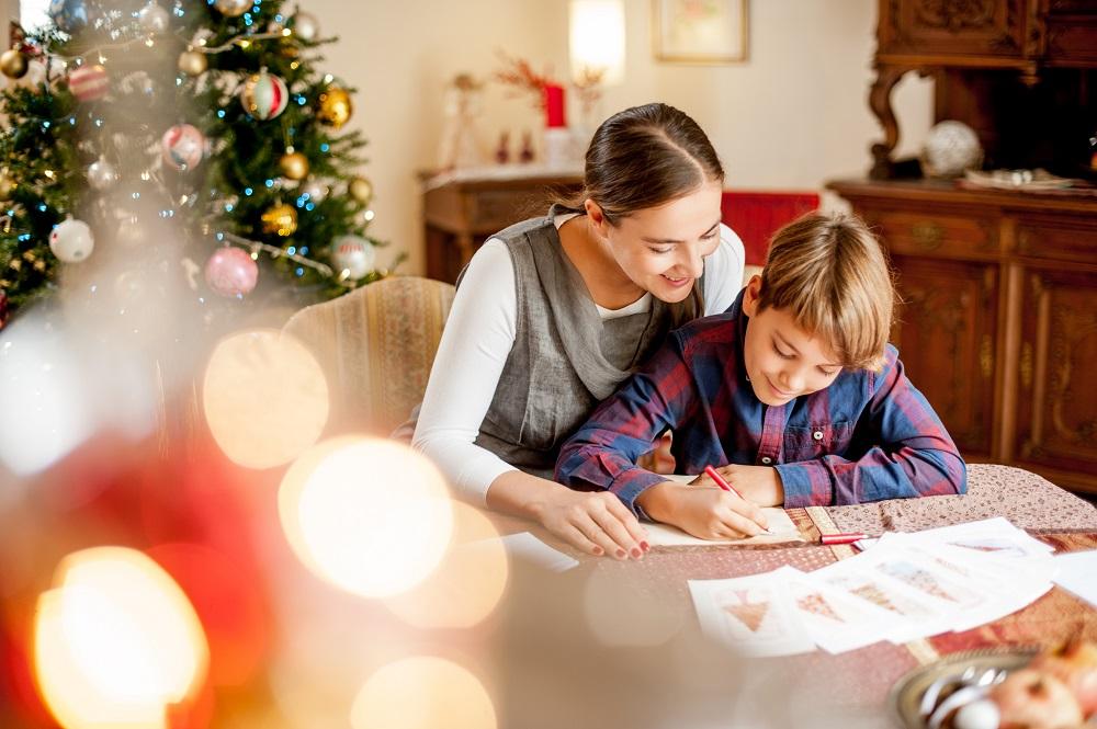 Spruch in den Weihnachtsbrief schreiben