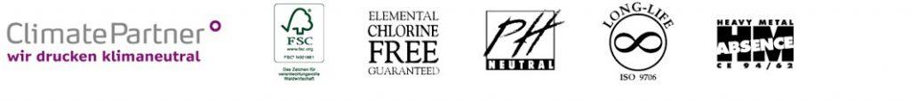 Logos klimaneutrales Drucken