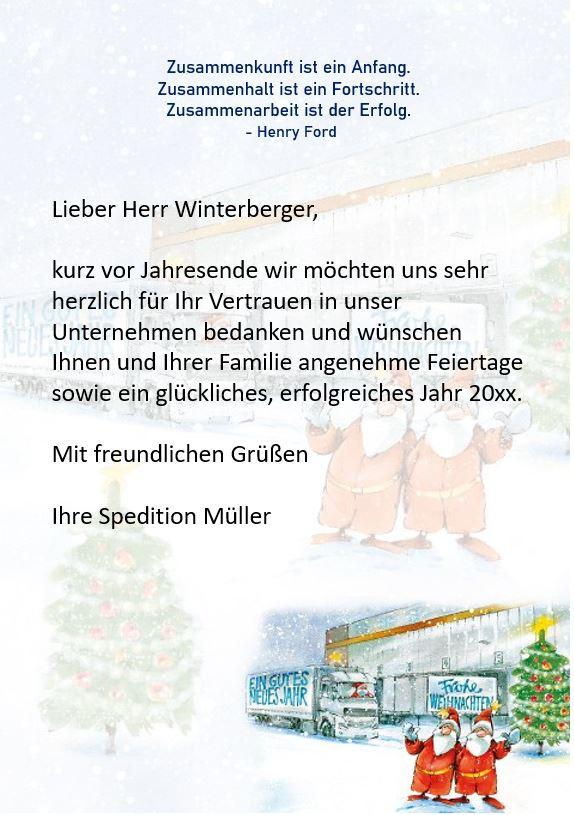 Liebesbrief zu weihnachten