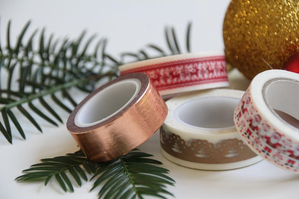 Weihnachtliches Washi Tape