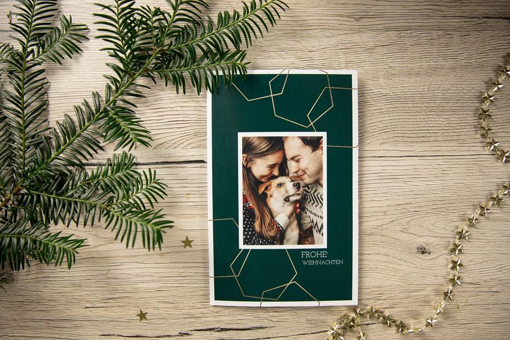 Fotokarten als moderner Weihnachtsgruß