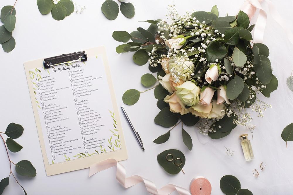 Eine Hochzeit planen mit Checkliste