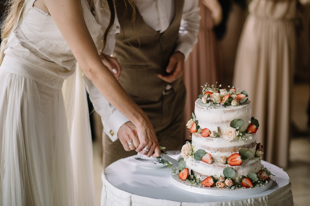 Perfekte Hochzeitstorte dank Hochzeitsplanung