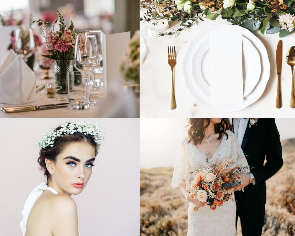 Hochzeitstrends 2020 Wildblumen