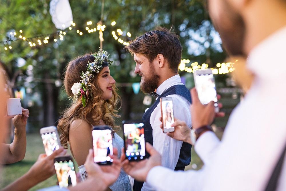 Trend zur Unplugged Wedding