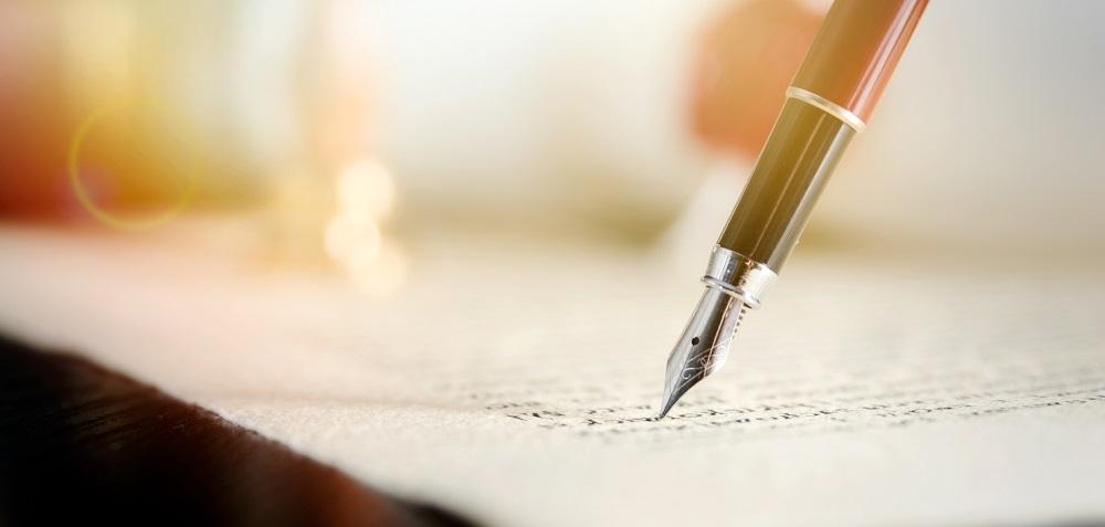 einen Brief schreiben privat
