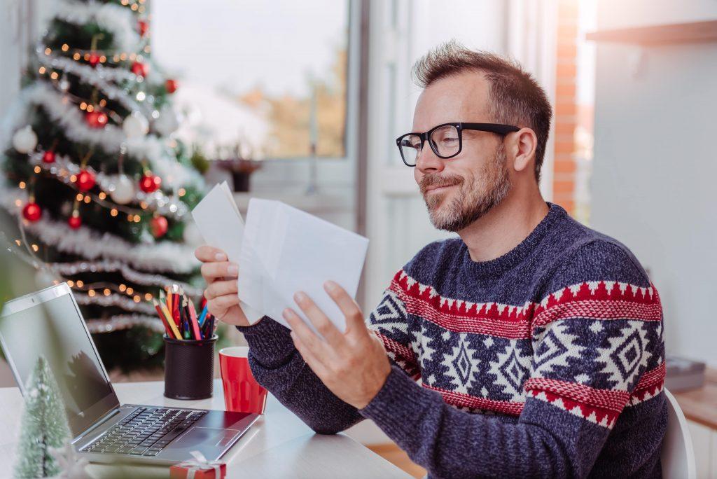 Einladungskarte Firmenweihnachtsfeier