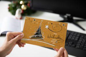 Weihnachtskarte B2B