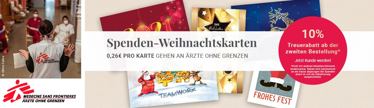 Spenden-Weihnachtskarten