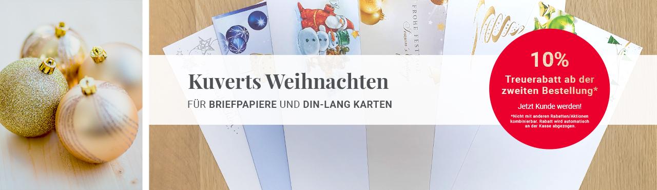 für Briefpapier und DIN-lang-Karten