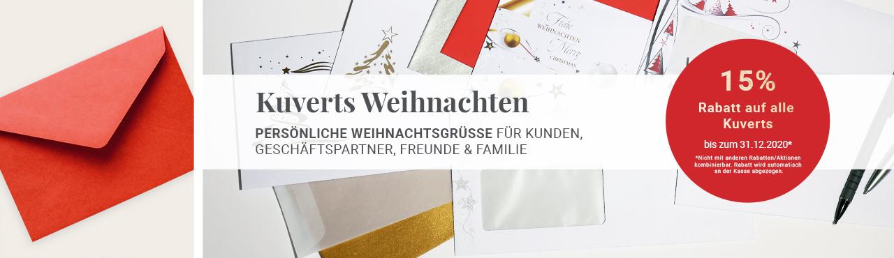 Kuverts - Weihnachten