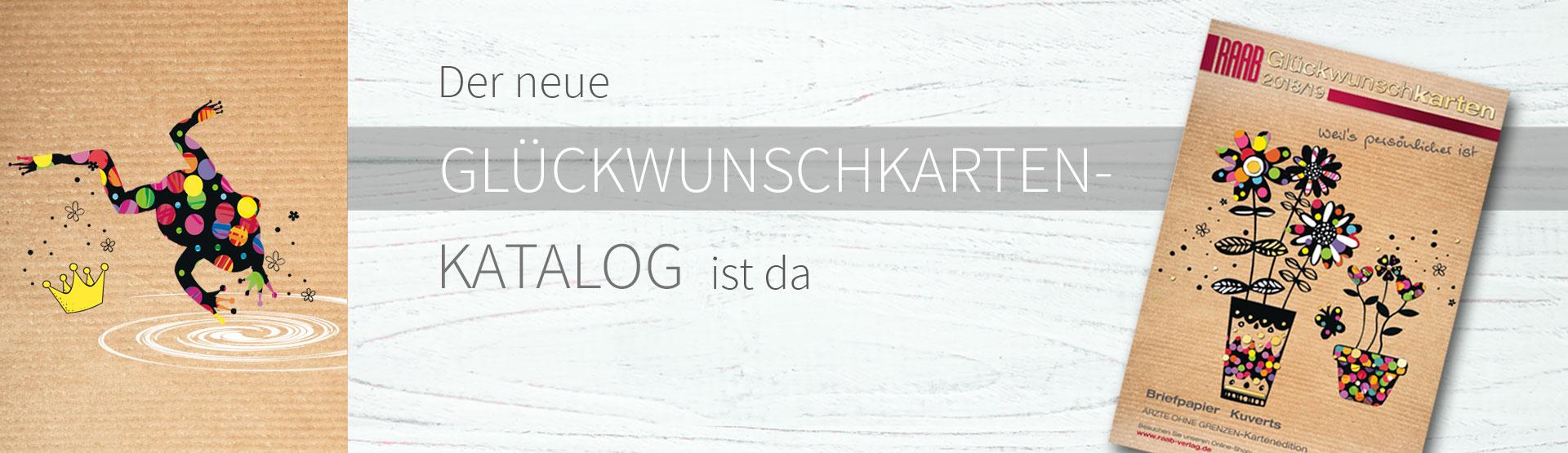 Klapp- & Grußkarten online drucken · Präsente & mehr | Raab-Verlag