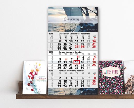 Raab Kalender - Kundenkalender für das neue Jahr