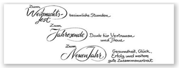 Kalligrafien