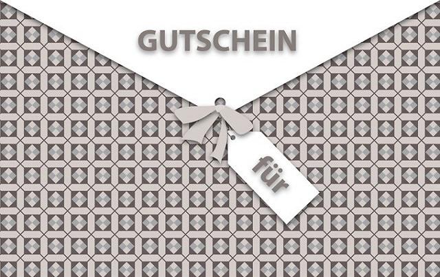 Kartenmotiv Gutschein