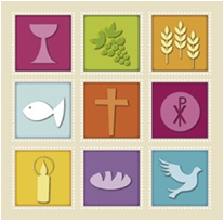 Raster mit neun Symbolen